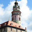 Krumlov Castle — Stock Photo