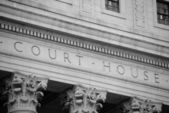 Court House Exterior — Stock Photo