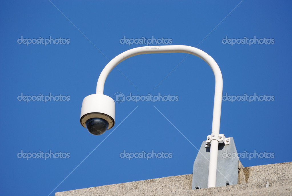 A police security camera  Stock Photo #4429645