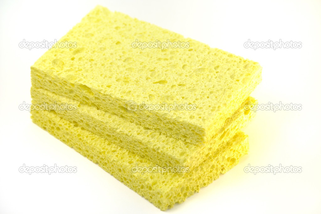 Yellow sponges — Stock Photo #4429930