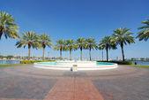 Plaza in St. Petersburg Florida — Stock Photo