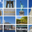 Royalty-Free Stock Photo: New York City Collage