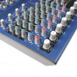 Royalty-Free Stock Photo: Preamp Mixing Board