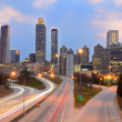 Atlanta Skyline — Foto Stock