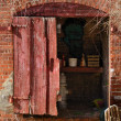 Stock Photo: Brick Shed