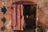 Brick Shed — Stock Photo