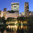 Central Park at Twilight — Stock Photo