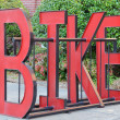 Bike Rack — Stock Photo