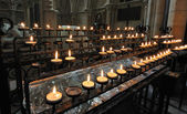 York Minster Prayer Candles — Stock Photo