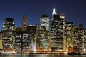 Lower Manhattan Skyline — Fotografia Stock