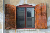 Rusted Shutter — Stock Photo