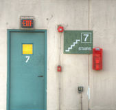 Emergency Exit — Stock Photo
