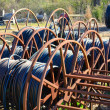 Spools of Electrical Cable — Lizenzfreies Foto