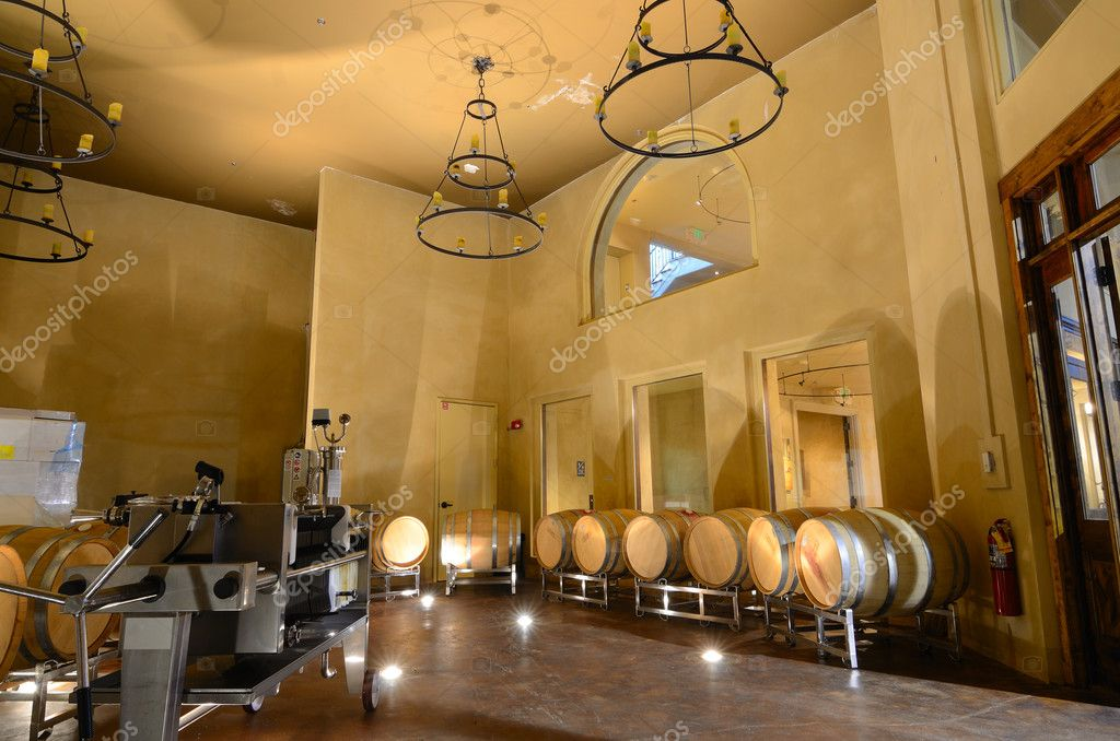 Vats in a cellar wine distillery. — Stock Photo #5292575
