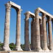 The Temple of Olympian Zeus - Stock Photo
