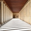 Stock Photo: Ancient hallway in Athens, Greece