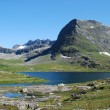 Stock Photo: River and lake at Trollstigen, More og Romsdal, Norway
