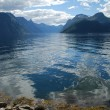 Stock Photo: View over fjord sunnylvsfjorden in Norway, More og Romsdal