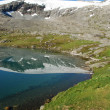 Stock Photo: Mountain lake - Djupvatnet lake, More og Romsdal, Norway