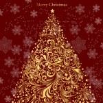 albero di Natale vettoriali — Vettoriale Stock