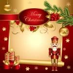 vettoriale illustrazione di Natale — Vettoriale Stock