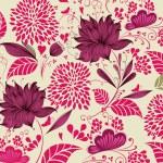 Vector Illustration: flower background. Fragment — Stock Vector #4387605
