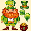 Stock Vector: Day of St. Patrick
