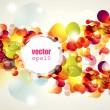 Abstract vector illustration - Vettoriali Stock