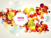 Abstract vector illustration — Vector de stock