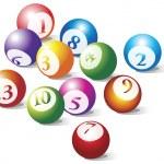 Pool balls composition — Stock Vector #4403765