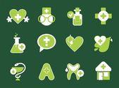 Icone semplice farmacia — Vettoriale Stock