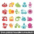 Royalty-Free Stock Vector Image: Holiday icons