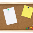 Pinboard - Notice board — Stock Photo