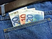 Money in your pocket — Foto Stock