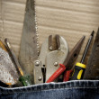 Tools jeans - Stock Photo