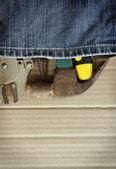 Tool jeans — Stock Photo