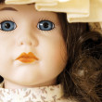 Vintage doll — Stock Photo