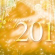 Stock Photo: New-year 2011