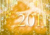 Nowego roku 2011 — Zdjęcie stockowe