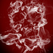 Cigarette smoke — Stock Photo