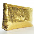 Stock Photo: Hand Bag Gold