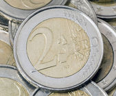 -euro-münze — Stockfoto