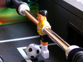 Soccer Table Keeper — Stock Photo
