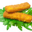 Fish sticks - Stock Photo