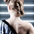 Hair styling — Stock Photo