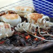 Stock Photo: Grilled octopus