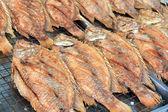 Grilovaná ryba — Stock fotografie