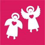Angels — Stock Vector