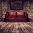 Vintage room background - Stock Photo