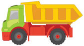 Truck toy — Stock Vector